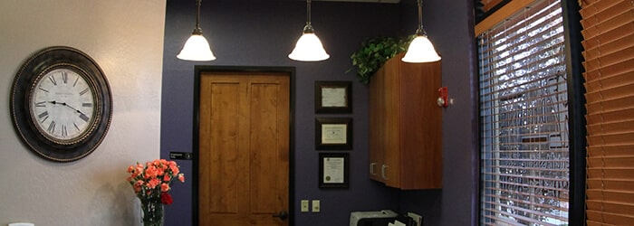 gilbert dentistry office interior