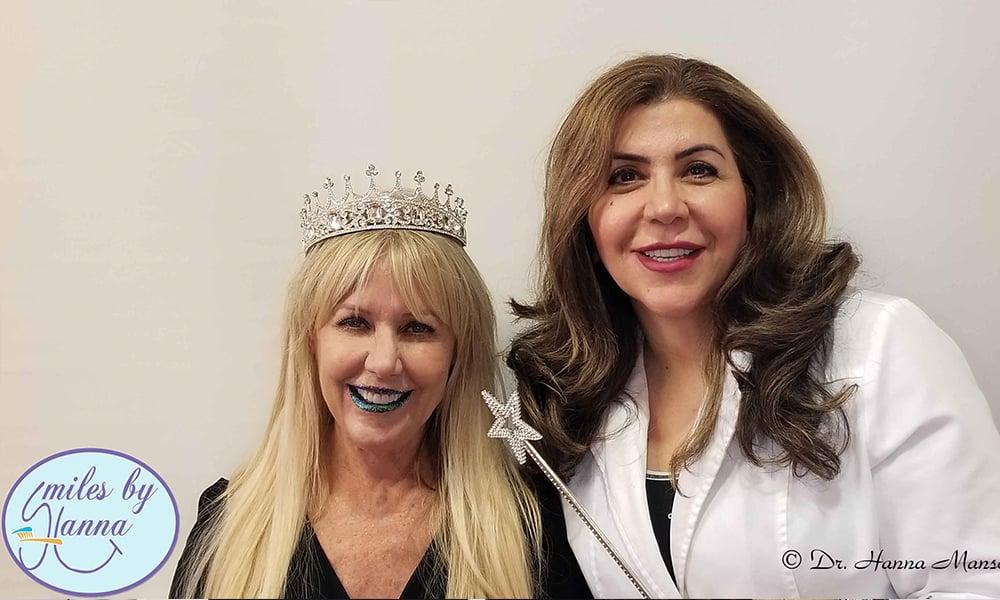 Dr. Mansoor with Happy Patient 1