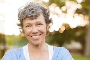 Headshot Of Happy Mature Woman